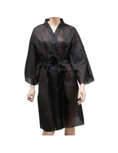 Kimono desechable negro 45 gr