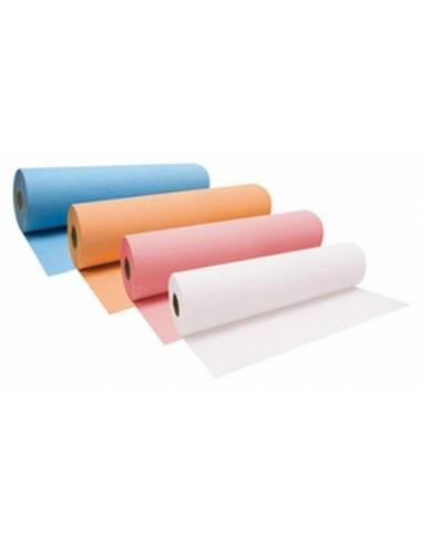 Rollo papel camilla gofrado 1 capa...